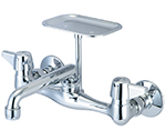 Central Brass 0048-TA9 - SINK FITTING WALLMOUNTED 1/2-M PIPE