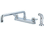 Central Brass 0121-A4 - KITCHEN SINK TOPMOUNT H&S 1/2M PIPE