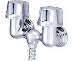 Central Brass 0210 - Leg Tub Faucet on 3 3/8-inch centers