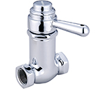 Central Brass 0334-1/2 - Self-Closing Cast Brass Shower Stop