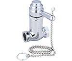 Central Brass 0335-1/2 Self-Closing Cast Brass Pull Chain Shower Stop