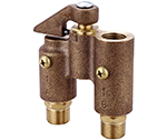 Central Brass 0555-D - TEMPERATOR VALVE W/DRAIN 3/8 PIPE