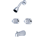 Central Brass 0897 Two Handle Tub and Shower Faucet