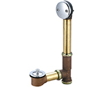 Central Brass 1645-P Multi-Tub Centralift lift and turn drain for Philadelphia trap