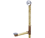 Central Brass 1655-X1817 - Multi-Tub Trip Lever Tub Drain Assembly