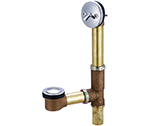 Central Brass 1675 - Multi-Tub Pop-Up Drain adjustable for 14 to 16-inch tubs.